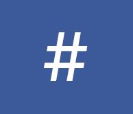 Facbook führt hashtag ein