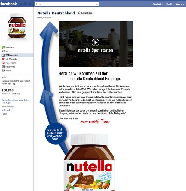 Nutella Deutschland